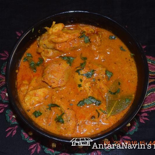 How to make Bengali Kosha Murgir Mangsho (a spicy-semi dry chicken curry)