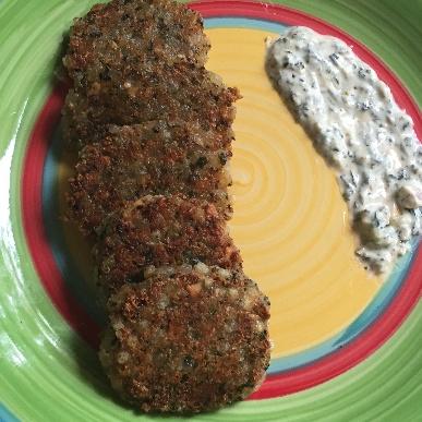 Photo of Crunchy Spinach Sabudana Fritters by Antara Navin at BetterButter