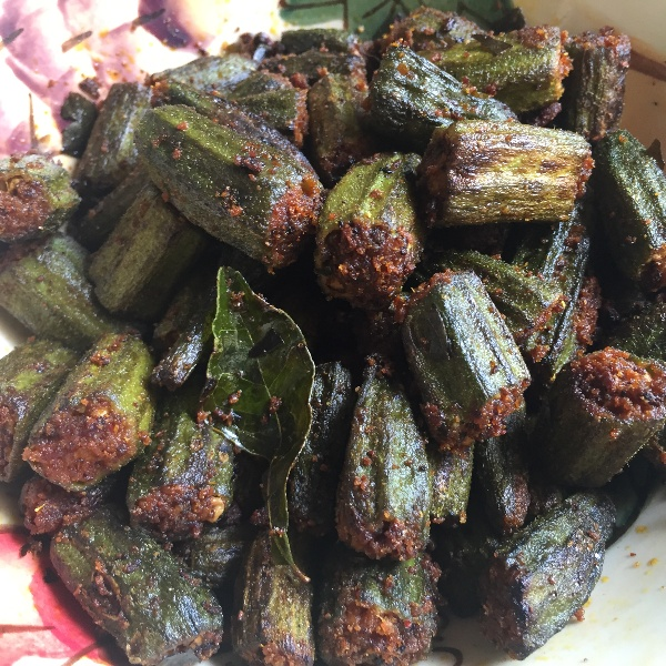 Photo of Bhindi Fry (Crispy Mangalore style Lady's Fingers fry) by Antara Navin at BetterButter