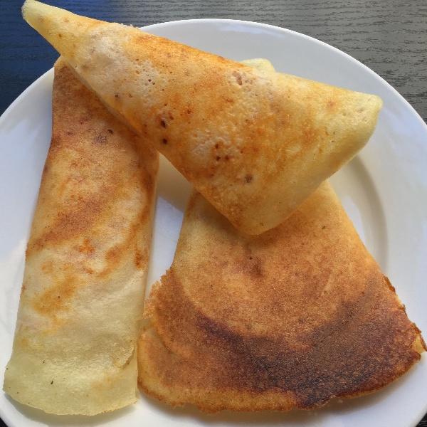How to make Paper Plain dosa (Karnataka Cuisine)