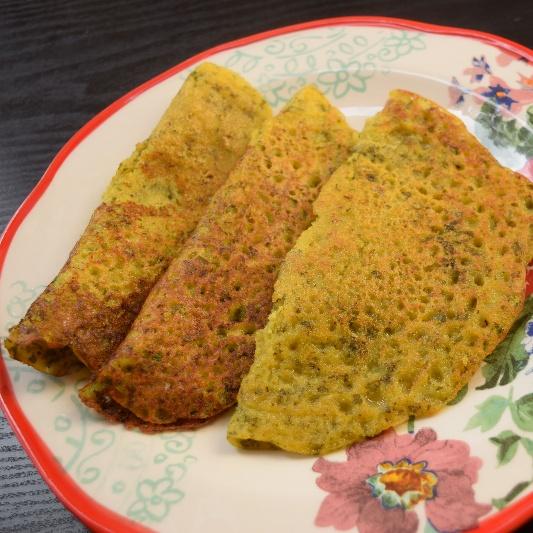 Photo of Instant Kothimbir Rava Dosa ( Coriander Semolina Pancake) by Antara Navin at BetterButter