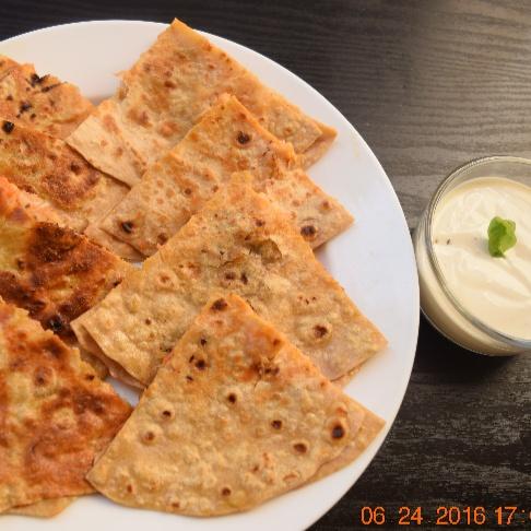 Photo of Chicken Tikka Indian Quesadilla Snacks by Antara Navin at BetterButter