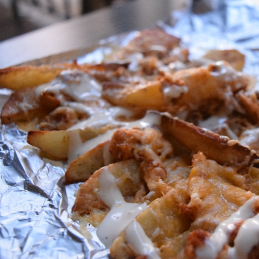 How to make Oven Baked Ranch Chicken Loaded Potato Fries