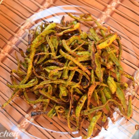 Photo of Lau er Khosha Bhaja (Bottle Gourd Peels Stir Fry) by Antara Navin at BetterButter
