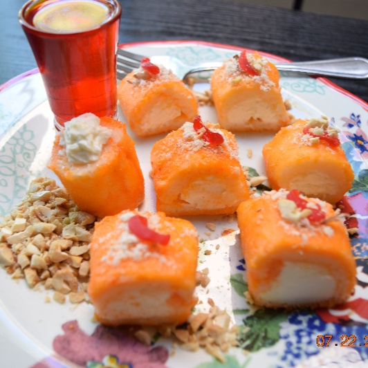 Photo of Halawet el Jibn (Arabic Sweet Cheese Rolls) by Antara Navin at BetterButter