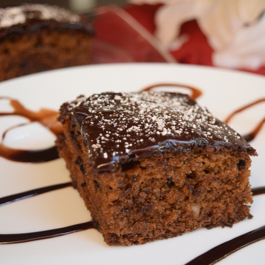 How to make Eggless Healthy Whole Wheat Cake with Chocolate Buttercream Frosting