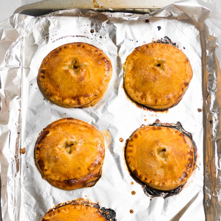 Photo of Baked Apple Cinnamon Hand Pies (Classic American Dessert) by Antara Navin at BetterButter
