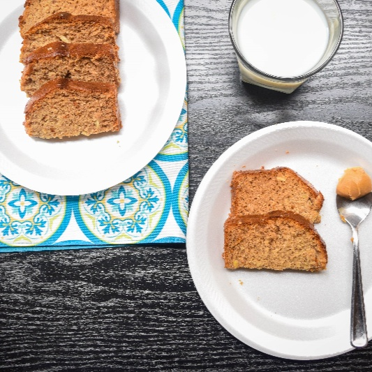 How to make Healthy Coconut Almond Bread infused with Cinnamon, Pumpkin Spice and Vanilla flavour