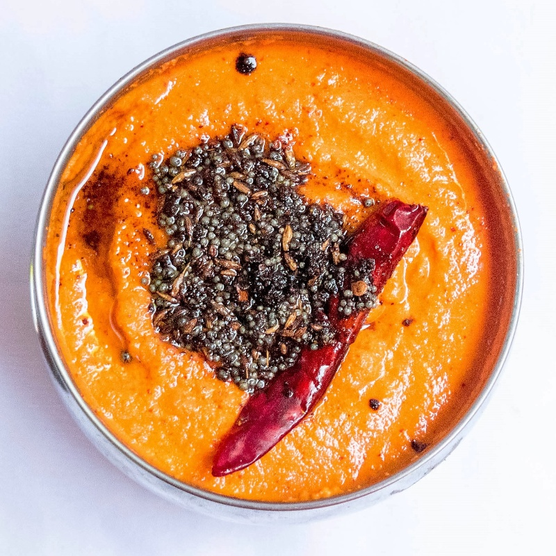 Photo of Delicious and  Easy  Red Coconut Chutney by Antara Navin at BetterButter