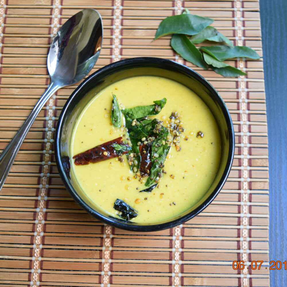 Photo of Udupi special Raw Mango and Yogurt Curry by Antara Navin at BetterButter