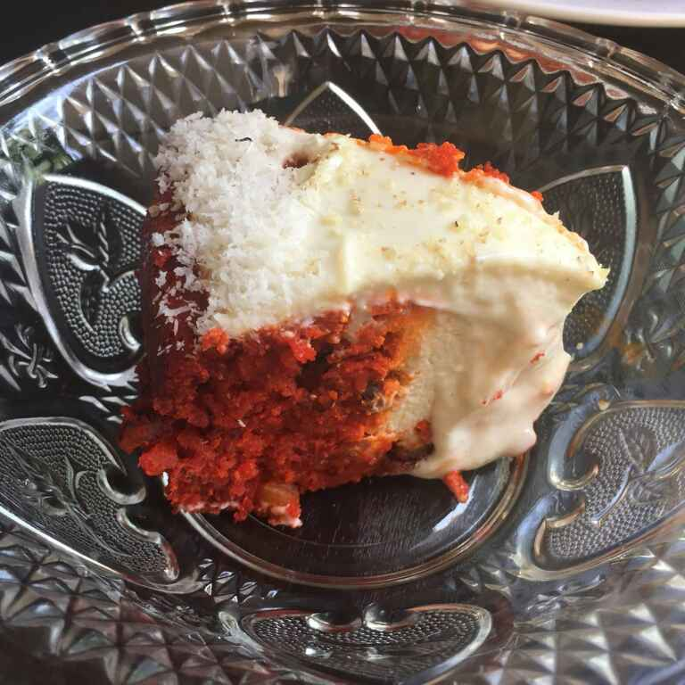 Photo of Carrot Cheesecake with Cream Cheese Frosting by Antara Navin at BetterButter