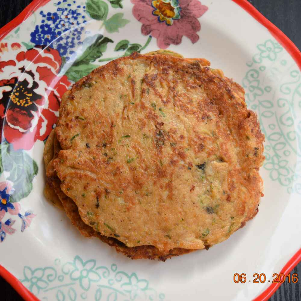 Photo of Savoury healthy sweet potatoes pancakes with cheddar cheese by Antara Navin at BetterButter
