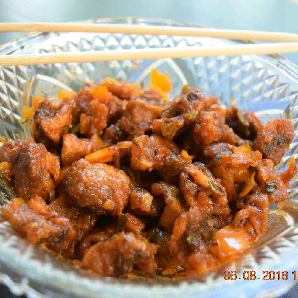 Photo of Dry Mushroom Manchurian by Antara Navin at BetterButter