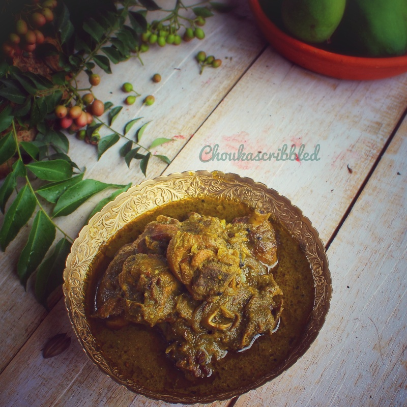 Photo of Curry Leaves Chicken Curry by Antara Boruah at BetterButter
