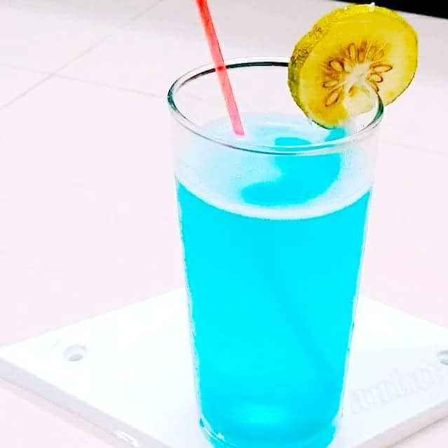 Photo of Blue Lagoon Mocktail by Antara Chakraborty at BetterButter