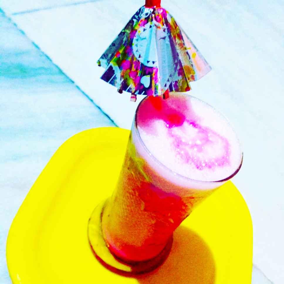 Photo of Rose Lassi by Antara Chakraborty at BetterButter