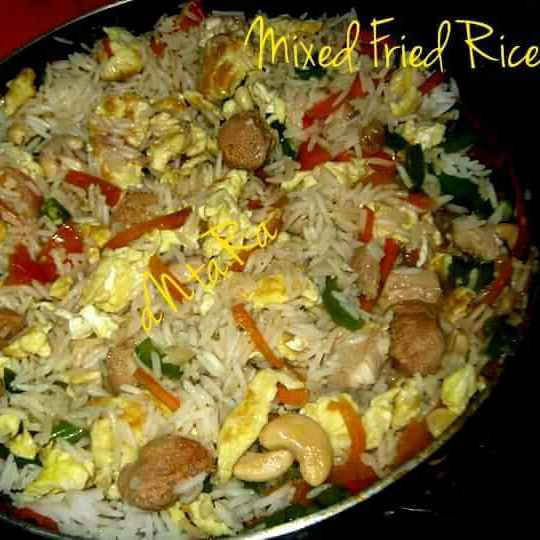 How to make Mixed Fried Rice