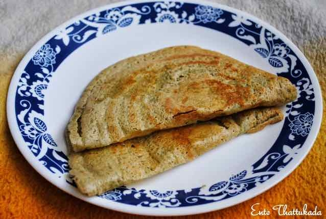 Photo of Sprouted Moong Dosa | Sprouted Green Gram Dosa by anu kollon at BetterButter