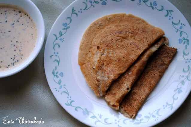 How to make Instant Oats Dosa