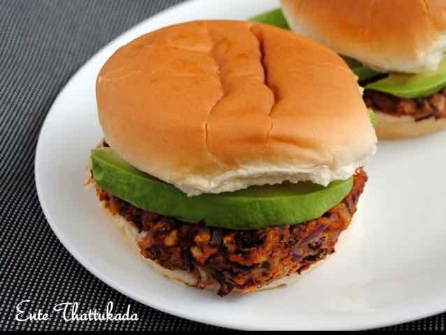 How to make Red Kidney Beans and Avocado Burger