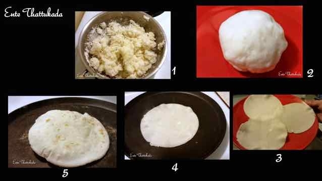 How to make Nice Pathiri/ Akki Roti