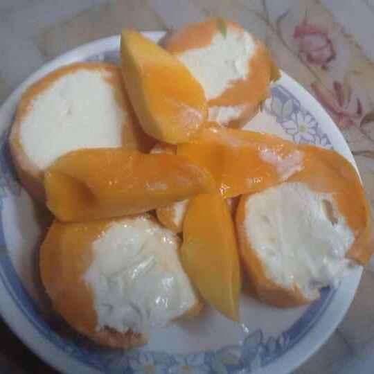 Photo of Mango Filled with Ice cream by Anu Lahar at BetterButter