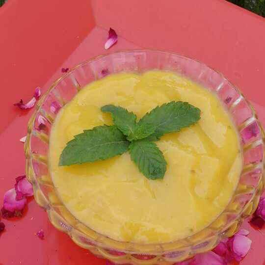 Photo of Aamras (Mango Juice) by Anu Lahar at BetterButter