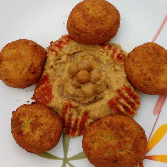 Photo of Falafel and Hummus by Anu Lahar at BetterButter