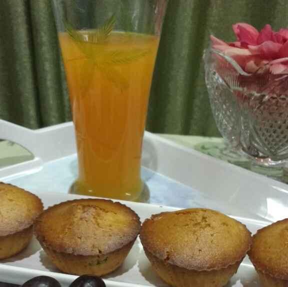 How to make Gehu ke aate se bane mix fruit cupcakes