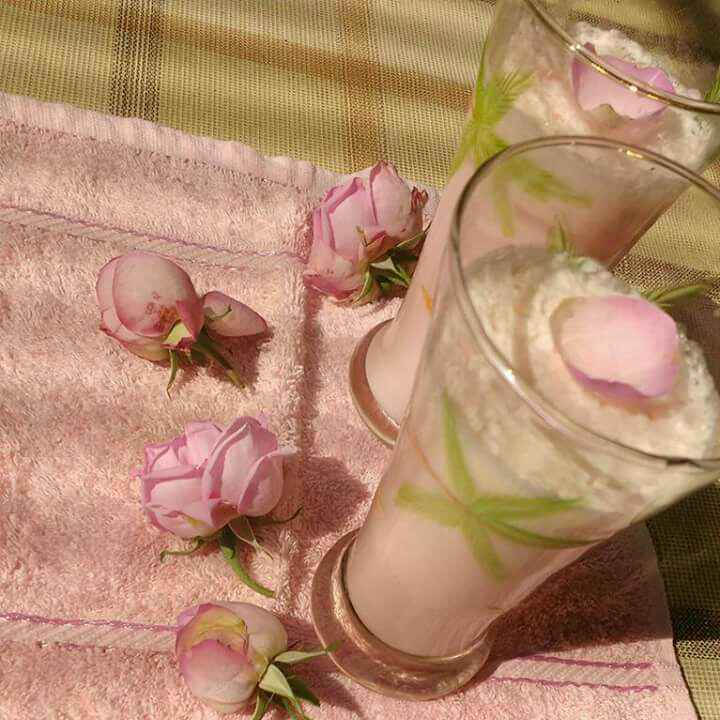Photo of Rose Lassi by Anu Lahar at BetterButter