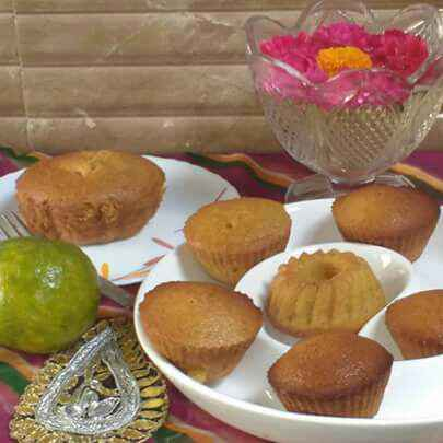 Photo of Eggless wheat Orange cupcakes /muffins by Anu Lahar at BetterButter