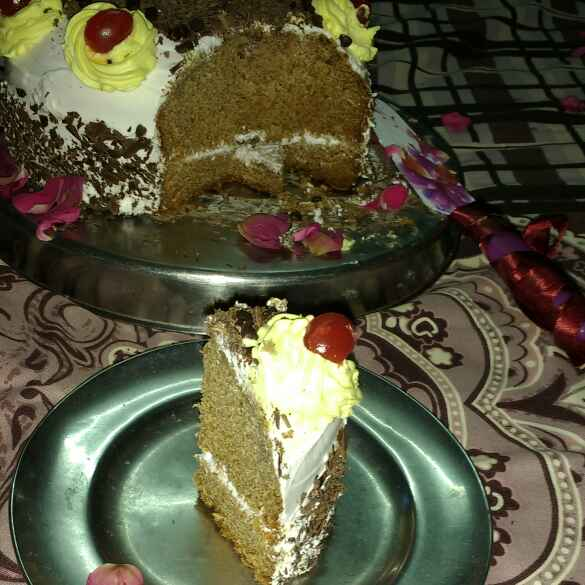Photo of Eggless black forest cake by Anu Lahar at BetterButter