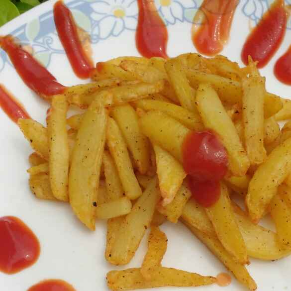 Photo of French Fries In An Airfryer (no oil) by Anu Lahar at BetterButter