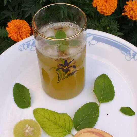 Photo of apple aur subza cold drink by Anu Lahar at BetterButter