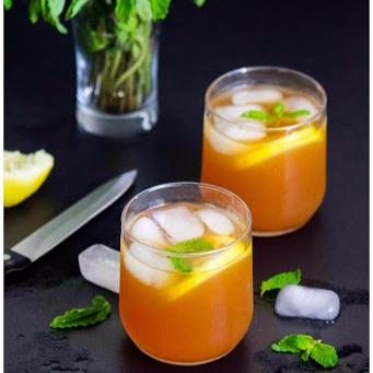 How to make Iced Lemon tea