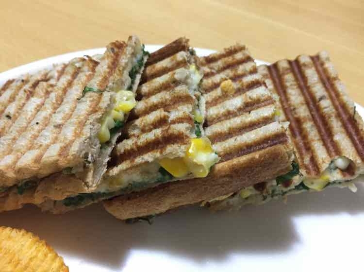 Photo of spinach corn sandwich by Anupama kamra at BetterButter