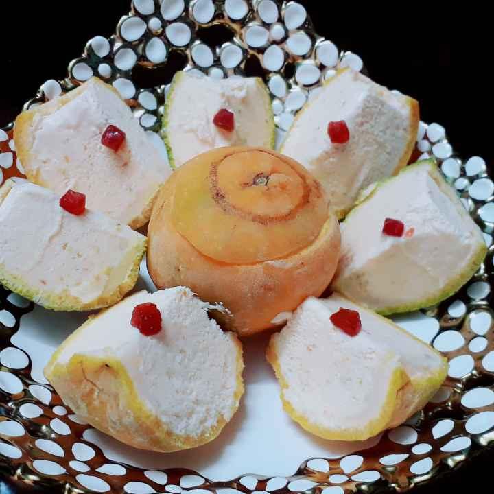 Photo of orange ice cream by Anupama Paul at BetterButter
