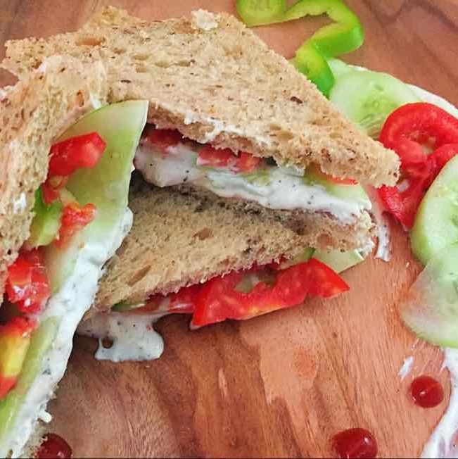 How to make Summer Sandwich