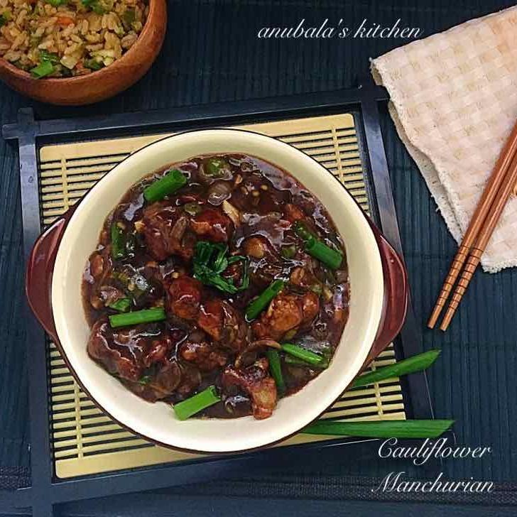 How to make Cauliflower Manchurian