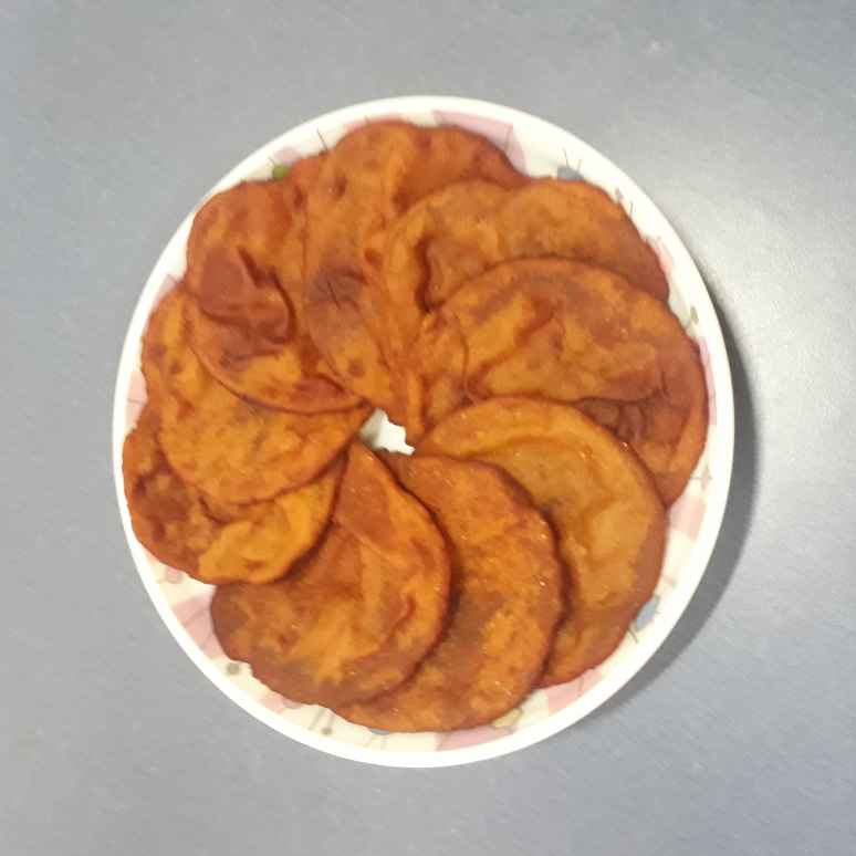 Photo of Red Pumpkin Puries by Anuradha Kuvalekar at BetterButter