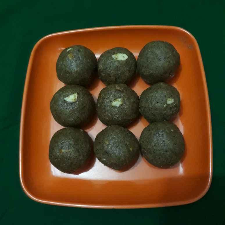 Photo of Green Gram Laddu by Anuradha Kuvalekar at BetterButter