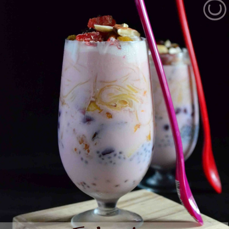 How to make Falooda