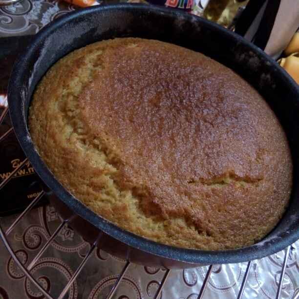 Photo of Apple Cake by Vineeta Ezra at BetterButter