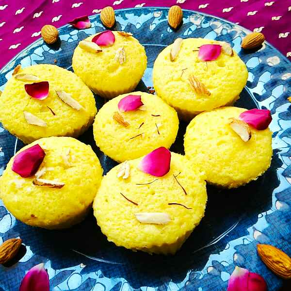 Photo of Saffron Rose Cupcake by Aparajita Dutta at BetterButter