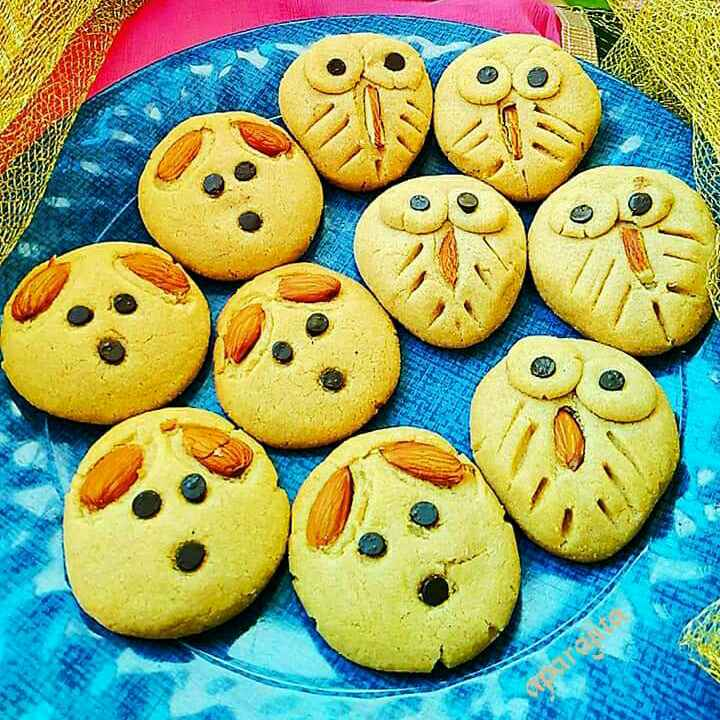 How to make Dog and Owl Atta Cookies