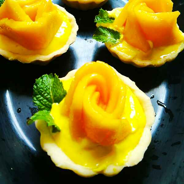 Photo of Mango Mousse Tart by Aparajita Dutta at BetterButter