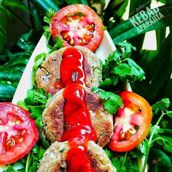 Photo of Flat Rice kebabs by Aparajita Dutta at BetterButter