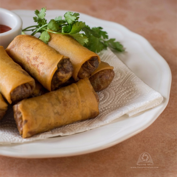 How to make Maggi Noodles Spring Rolls