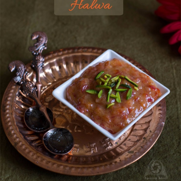 How to make Red Bell Pepper/ Capsicum Halwa