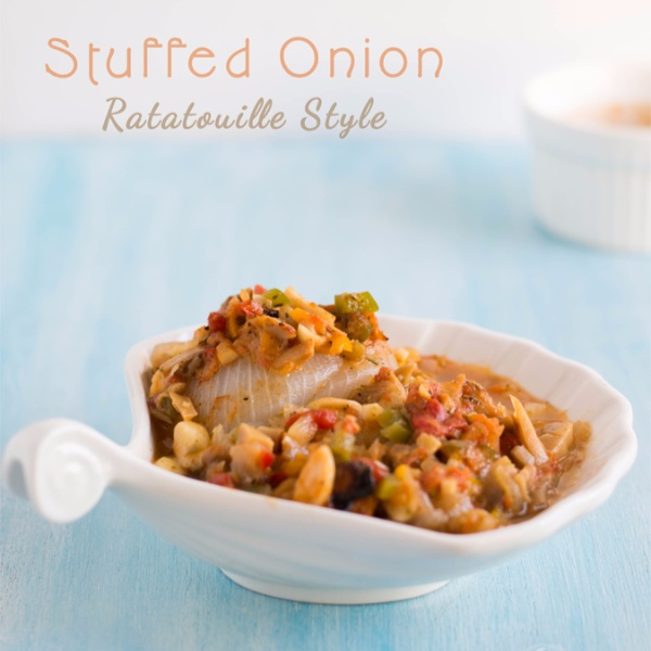How to make Stuffed Onions - Ratatouille Style